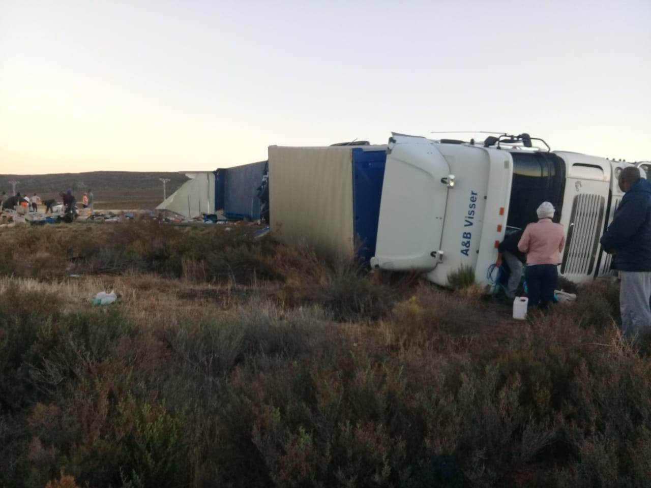 N1 closed: Crash involves Greyhound bus | George Herald