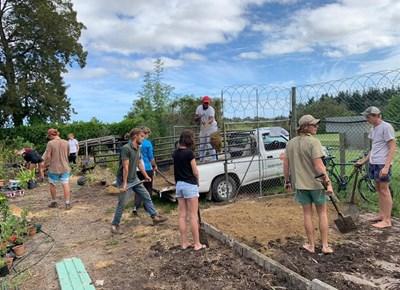 BotSoc Garden Route volunteers assist at Botanical Garden