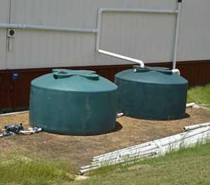 Water management: rainwater harvesting and better storage