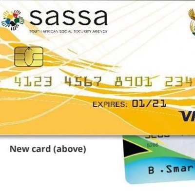 2 Months before new Sassa card works at pay points