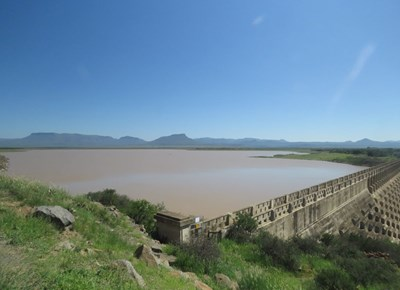 Dam level is on the rise