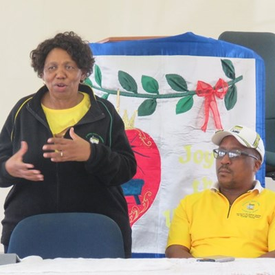 Education Minister visits George