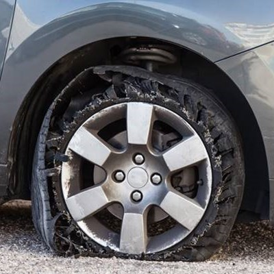Headline: 2nd-hand tyres come at deadly cost