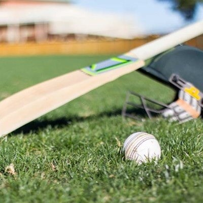 Weekend club cricket action