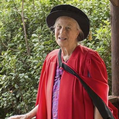A PhD at 77