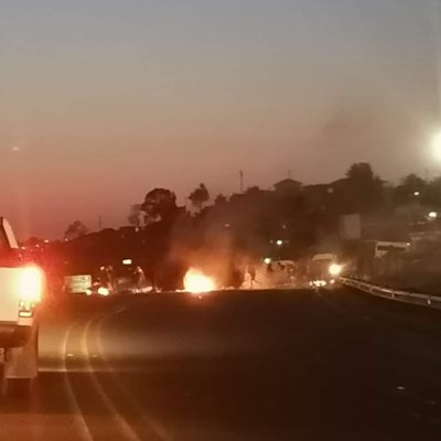 N2 closed due to protests