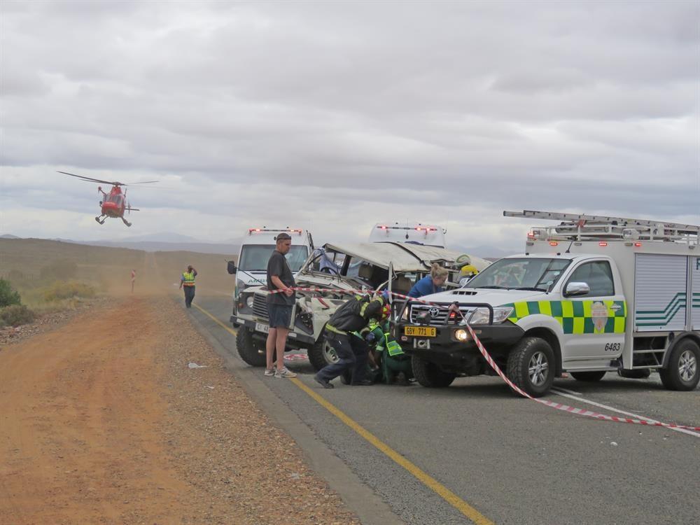 Noodlottige ongeluk op R62