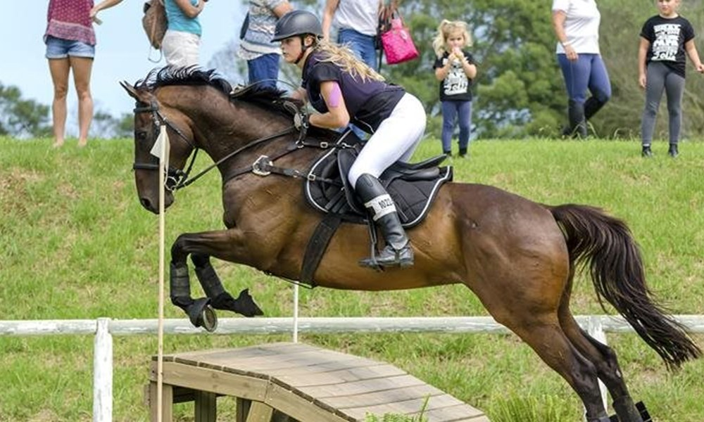 First stadium eventing qualifier at George Riding Club