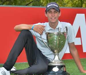 Simpson lifts Proudfoot Trophy at SA Amateur