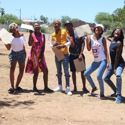 Fezekile High get their matric results