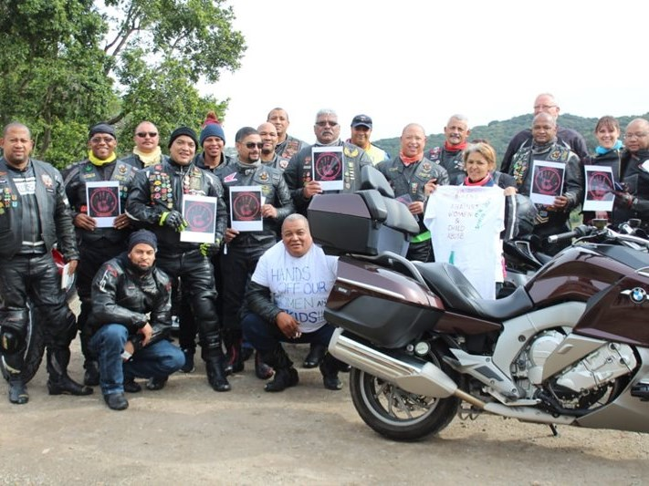 Bikers take a stand against abuse