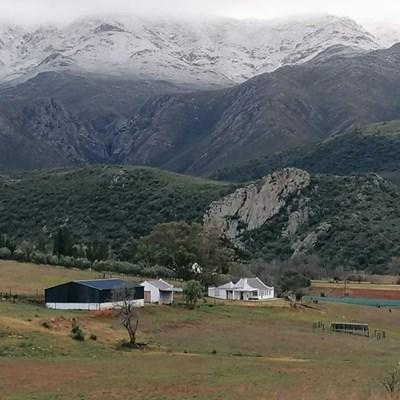 Sneeu op die Swartberge