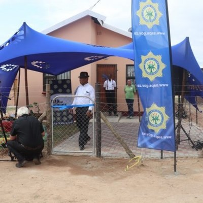 SAPS gift 79-year-old grandmother 3-bedroom house