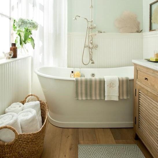Budget-friendly bathroom update