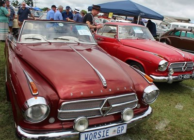 Antique beauties at George Old Car Show