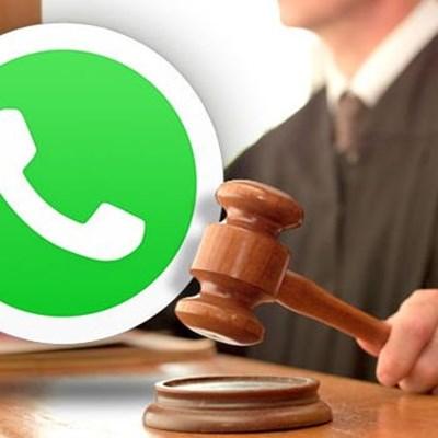Whatsapp boodskappe wat jou moontlik 'n boete of tronkstraf op die hals kan haal