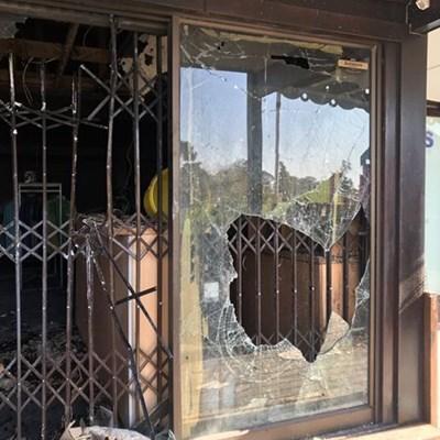 Golf pro shop damaged in fire