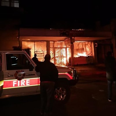 Belinda's Cafe destroyed in fire