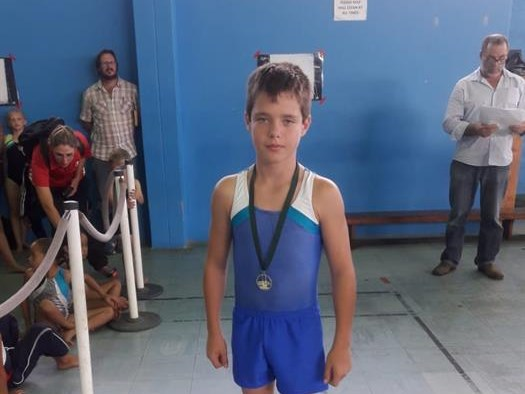 Many medals for young gymnasts