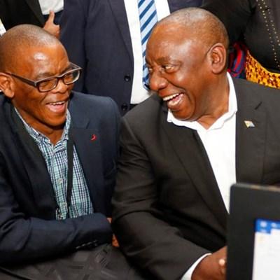 Magashule suspending Ramaphosa is not fake news