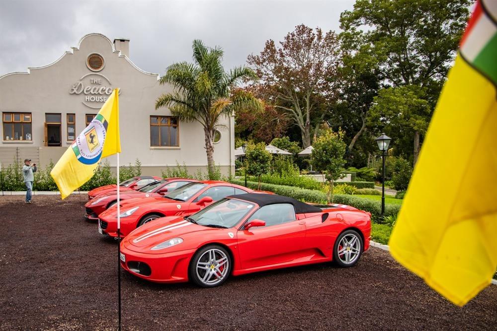 Ferrari Automobile Club meet in George   Mossel Bay Advertiser