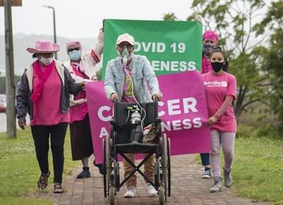 Cansa Shades of Pink walk or run