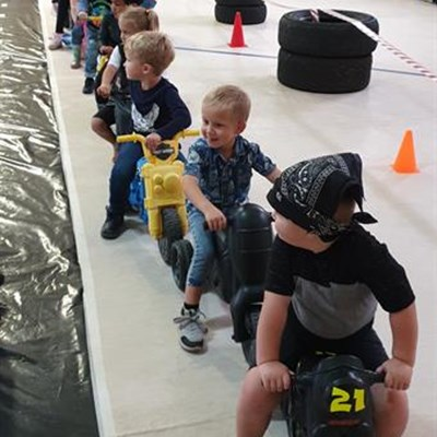 Youngsters enjoy mini Buff
