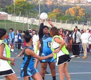 Jumps aplenty at netball tournament