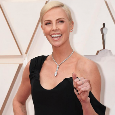 You actually pronounce my surname like 'throne', Charlize tells UK audience
