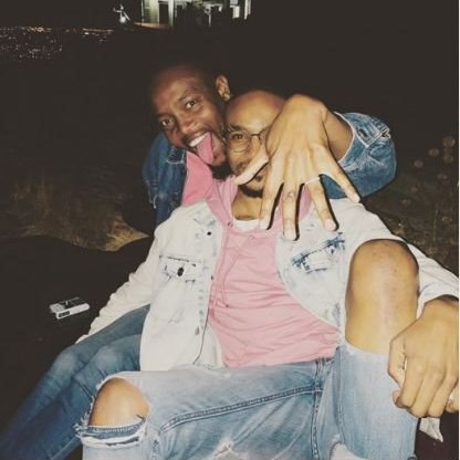 Phelo pines for Moshe as their love saga continues on social media