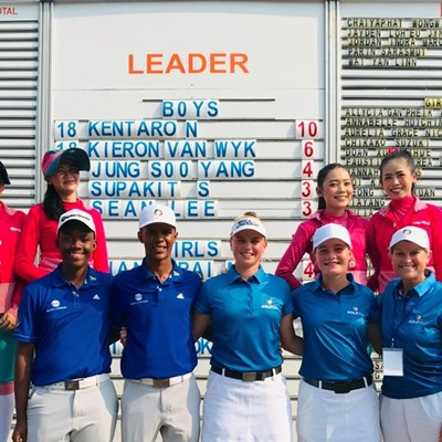 SA Junior pair gives chase in Indonesia