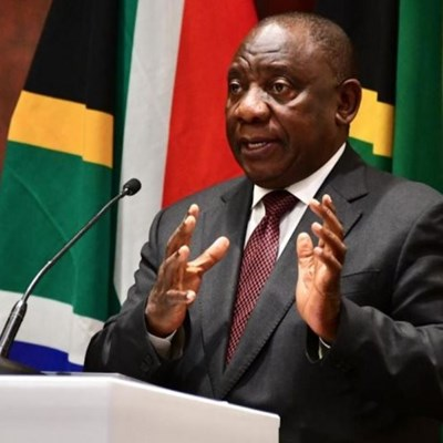 Message by president Cyril Ramaphosa on New Year's Eve