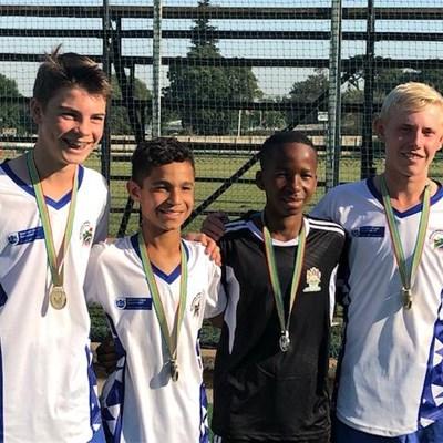 Gold medal for Western Cape u.14 boys hockey team