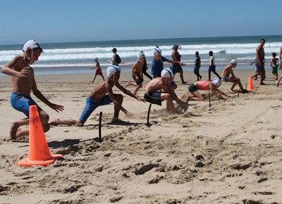 Nippers practice for SA champs