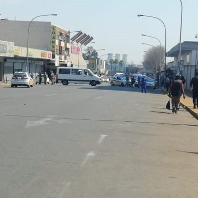 Clashes between 'Nigerians' and SA nationals cause further chaos in Kempton Park