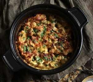 What's for dinner? Chicken & wedges casserole