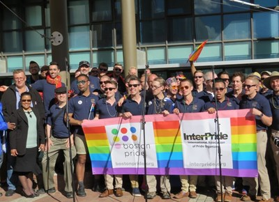 First Gay Parade embraced by supporters