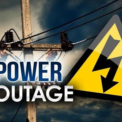 Power outage: Kaaimans line