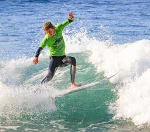 Knysna surfer finishes top NMU contestant