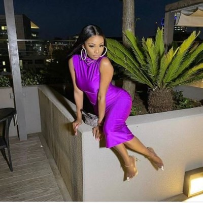 Bonang shows new style on her latest holiday