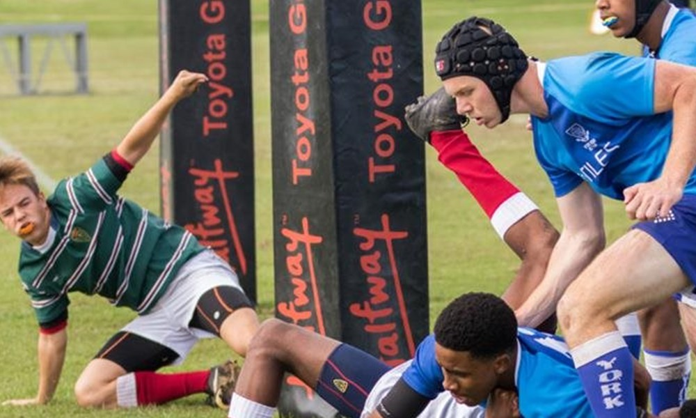 York boys in on the action at rugby festival