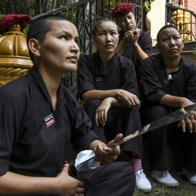 Nun-chucks: kung fu sisters battle stereotypes
