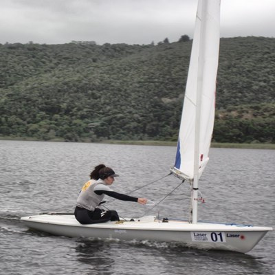 Wind causes tricky sailing conditions