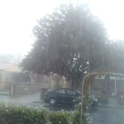 Rain in drought-stricken Graaff-Reinet
