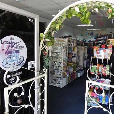 The Little Art Shop celebrates its 20th Birthday this year!