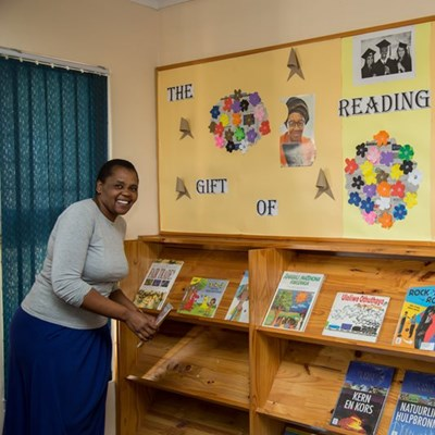 Books, readings and displays for Library Week
