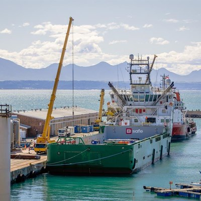 Mossel Bay port supports drilling