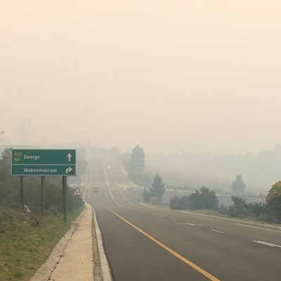 Garden Route District Municipality fire update