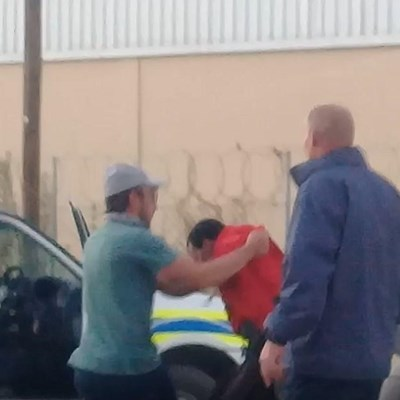 'Violent' arrest upsets