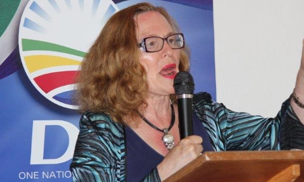 Helen Zille in Stilbaai